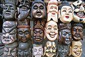 纪念品,中国,面具,上海