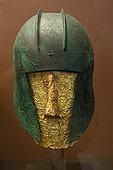 青铜,头盔,国家考古博物馆,雅典,希腊