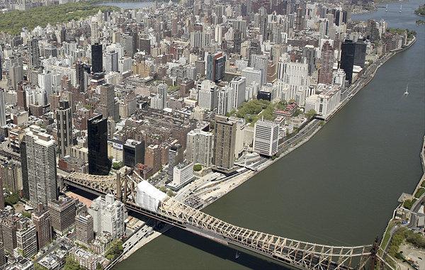 曼哈顿,俯视图