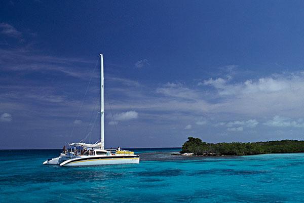 图片标题:帆船,海中,洛斯罗克斯群岛,国家公园,委内瑞拉