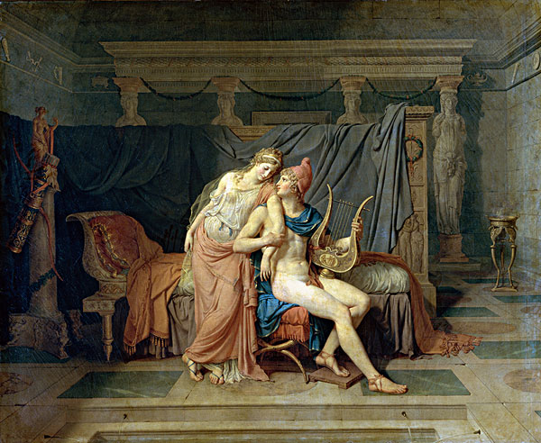 巴黎卢浮宫手绘
