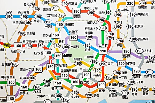 日本,东京,地铁,地图