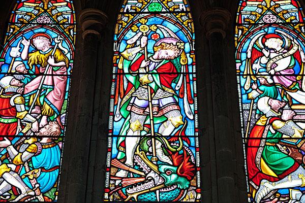 教堂彩色玻璃贴图