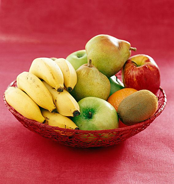 水果篮图片素材简笔画