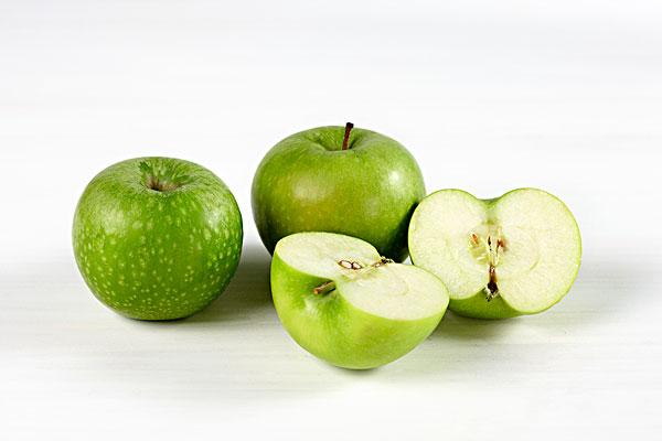 苹果,白色背景