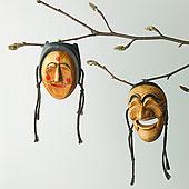 韩国,传统面具,枝条