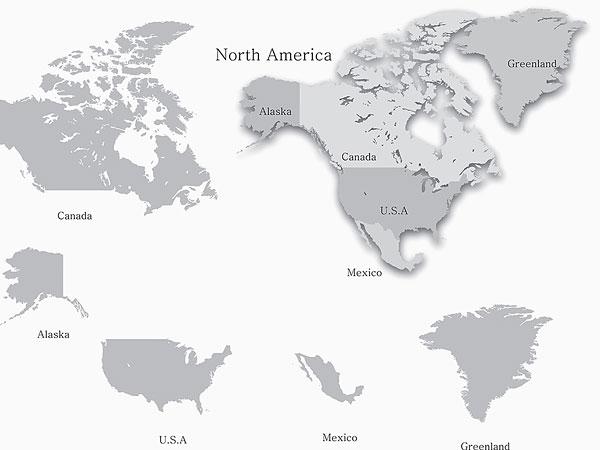 >美国地图