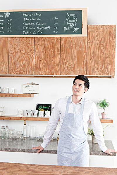 咖啡师,咖啡,韩国人