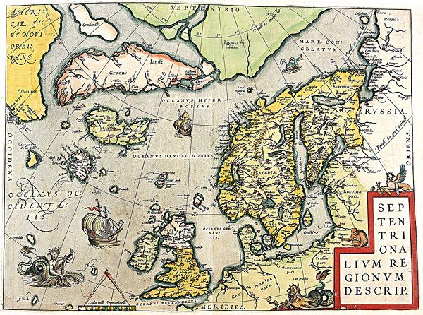 格陵兰 冰岛 地图