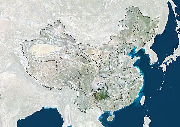 >卫星中国地图