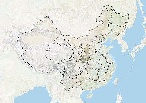 陕西地图_陕西地图图片