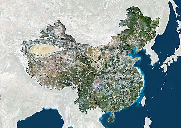 求中国卫星地图