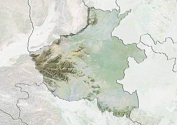 河南地图_河南地图图片