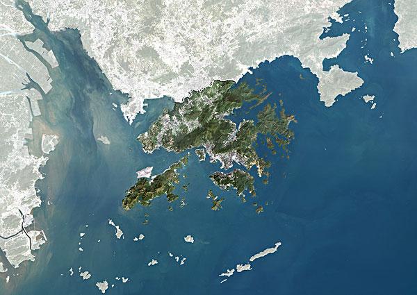 >中国卫星地图