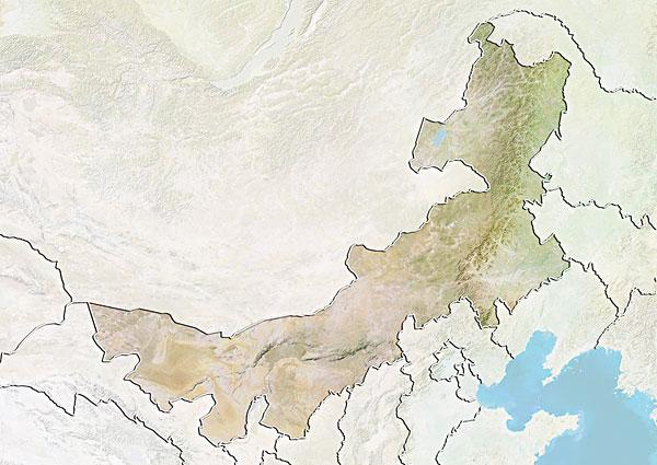 内蒙古地图_内蒙古地图图片