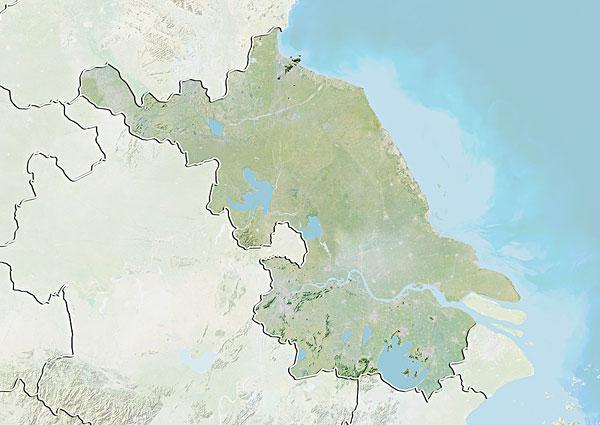 >江苏地图