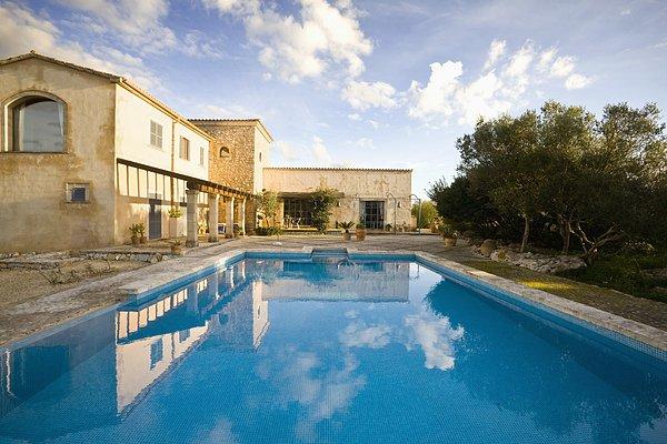 欧式别墅露天泳池