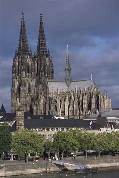 全景网 - 注册与登录-德国,科隆,大教堂,俯视图