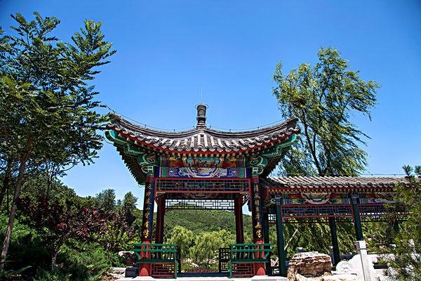 中国古典园林建筑亭台楼阁