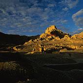远景,古格,英国,场所,西藏