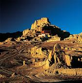 西藏阿里古格王国遗址