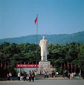 长沙湖南大学红太阳广场