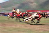 西藏那曲赛马