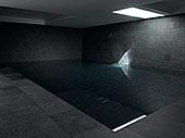 水塘,公园,房子,伦敦,时髦,暗色,灰色,室内,地下室,游泳池