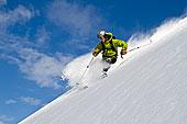 男人,滑雪,北方,脸,雷鸟,顶峰,楚加奇山,阿拉斯加,冬天