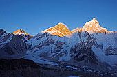 亚洲,尼泊尔,喜马拉雅山,萨加玛塔国家公园,珠穆朗玛峰,区域,世界遗产,日落