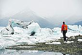 欧洲,冰岛,杰古沙龙湖,冰山,泻湖