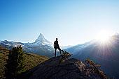 欧洲,瓦莱,阿尔卑斯山,瑞士,策马特峰,远足,靠近,马塔角