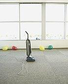真空吸尘器,办公室,气球