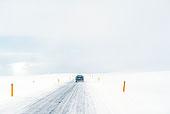汽车,驾驶,乡村道路,雪景
