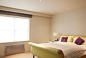 床,暖气,现代,卧室