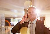 头像,自信,商务人士,交谈,手机