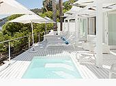 游泳池,休闲椅,内庭