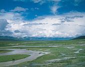 中国新疆巴音布鲁克河