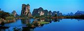 自然,场景,漓江,河,桂林,广西