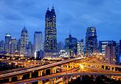 上海南北高架淮海路
