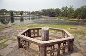 广西桂林兴安县灵渠古老的运河