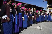 云南香格里拉中甸地区藏族传统活动