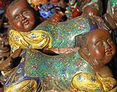 北京潘家园的陶瓷摊