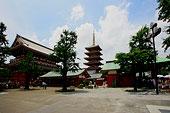 东京浅草寺五重塔
