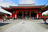 东京浅草寺观音像的正殿