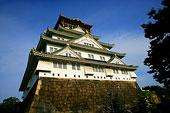 日本大陂古城著名建筑天守阁
