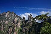 世界自然遗产江西上饶三清山风光