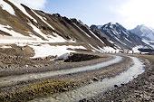 新疆伊犁地区-乔尔玛地貌
