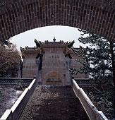 山西五台山南山寺