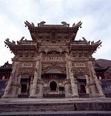 山西五台山龙泉寺的石牌坊